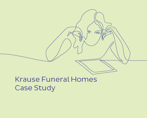 Case study: Krause Funeral Homes Connect More Families with a Simplified Live-Streaming